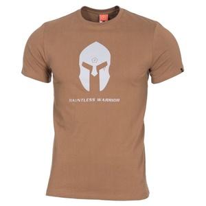 Pánske tričko PENTAGON® Spartan helmet coyote, Pentagon
