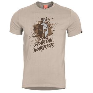 Pánske tričko PENTAGON® Spartan Warrior khaki, Pentagon