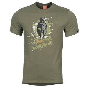 Pánske tričko PENTAGON® Spartan Warrior zelená, Pentagon