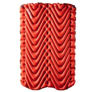 Nafukovací karimatka Klymit Insulated Double V oranžová, Klymit