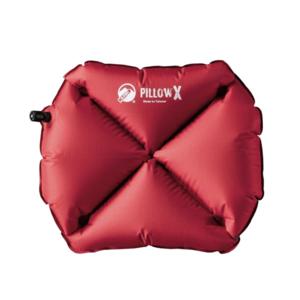 Nafukovací vankúš Klymit Pillow X červený, Klymit