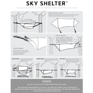 Stanový prístrešok Klymit Sky Shelter zelený, Klymit