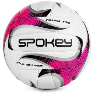 Volejbalový lopta Spokey GRAVEL PRO ružový veľ. 5, Spokey