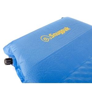 Samonafukovací karimatka Snugpak XL s vstavaným vankúšom modrá, Snugpak