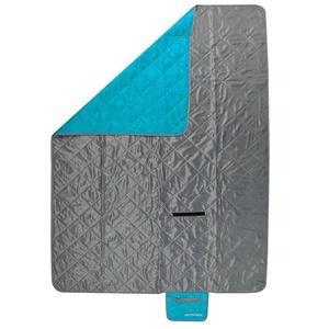 Kempingová deka Spokey CANYON 200x140cm šedo / modrá, Spokey