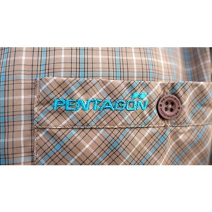 Košeľa s krátkym rukávom Scout QuickDry PENTAGON® TB checks, Pentagon