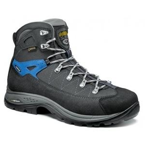 Topánky ASOLO Finder GV MM graphite / gunmetal / športy blue/A915, Asolo