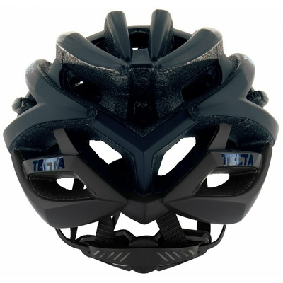 Ultraľahká cyklo helma Rogelli tiecť, čierna-modrá 009.814, Rogelli