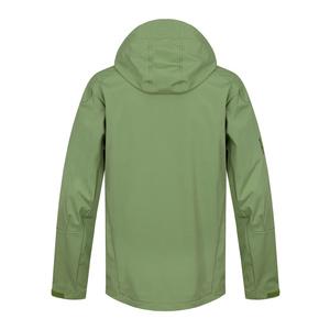 Pánska softshellová bunda Sauri M tm.zelená, Husky