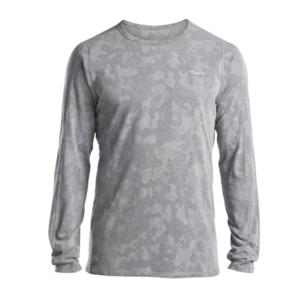 Pánske triko s dlhým rukávom Saucony Men Negative-Splt Jacquard Ls Dark Grey, Saucony