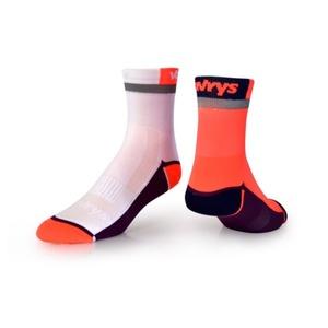 Ponožky VAVRYS CYKLO 2020 2-pa 46220-210 oranžová, Vavrys