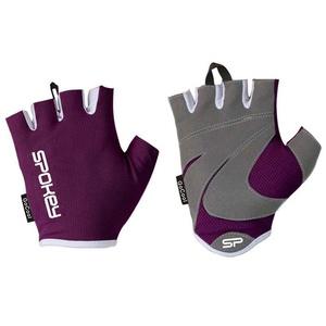 Dámske fitness rukavice Spokey LADY FIT vínovej, Spokey
