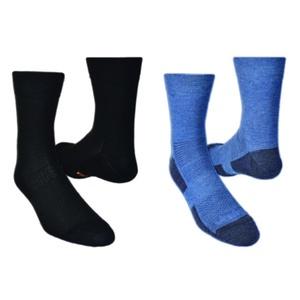 Ponožky LIGHTTREK CMX 2pack 28327-83 čierna + modrá