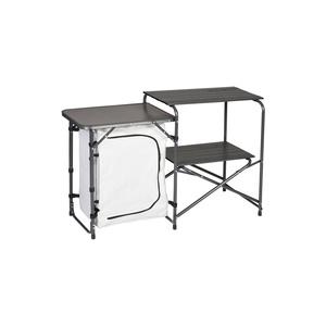 Skladacia stole / Kuchynka Husky moky strieborná, Husky