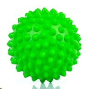 Rehabilitačné masážny loptička Spokey TONI 90 mm, zelený, Spokey