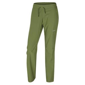 Dámske softshellové nohavice Husky Speedy Long L tm.zelená, Husky