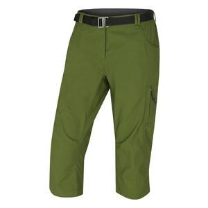 Dámske 3/4 nohavice Husky kléru L tm. zelená, Husky
