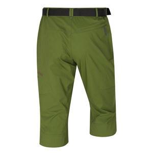 Pánske 3/4 nohavice kléru M tm. zelená, Husky
