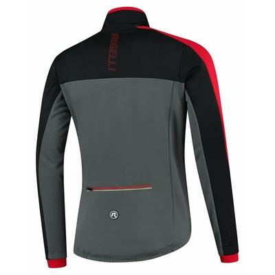 Pánska zimná bunda Rogelli Freeze šedo-čierno-červená ROG351022, Rogelli