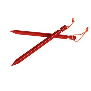 Stanové kolíky Husky Dural odľahčené červená, Husky