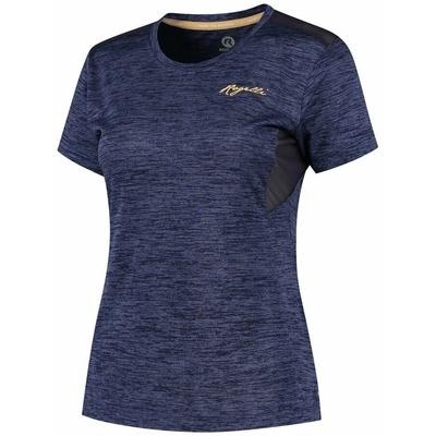 Dámske funkčnou tričko Rogelli INDIGO s krátkym rukávom, fialové 840.268