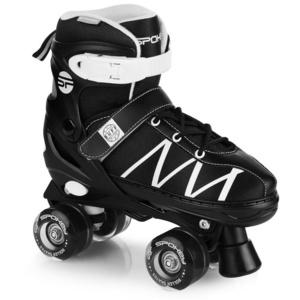 Trekingové korčule Spokey BUFF PRO nastaviteľné čierno-biele, Spokey