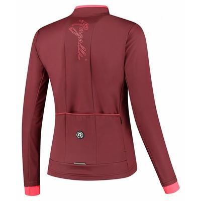 Dámska zimná bunda Rogelli Essential vínovo-koralová ROG351098, Rogelli