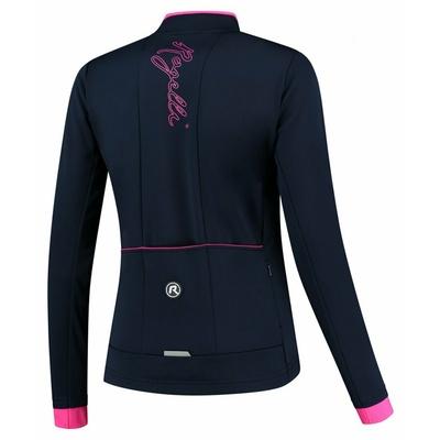 Dámska zimná bunda Rogelli Essential modrá-ružová ROG351097, Rogelli