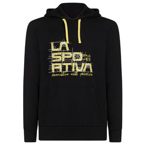 Pánska mikina La Sportiva Project Hoody black / yellow, La Sportiva