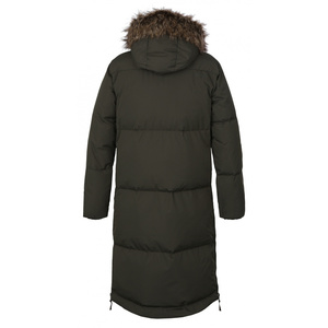 Dámsky páperový kabát Husky Downbag L tm. khaki, Husky