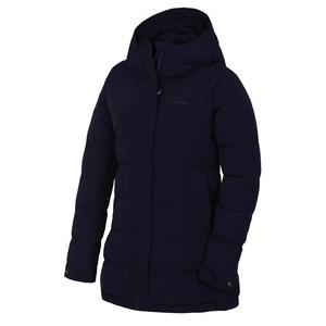 Dámsky hardshell plnený kabátik Husky Nilit L tm. modrofialová, Husky