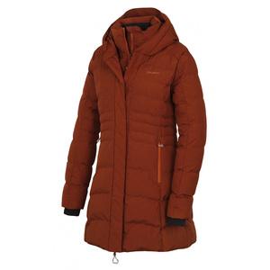 Dámsky hardshell plnený kabátik Husky normy L hnedá, Husky