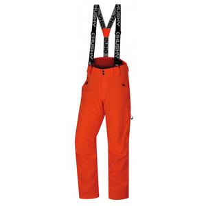 Pánske lyžiarske nohavice Husky Mital M neónovo oranžová, Husky