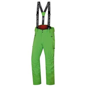 Pánske lyžiarske nohavice Husky Mital M neónovo zelená