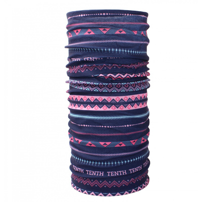 multifunkčné šatka Husky Printemp pink triangle stripes, Husky