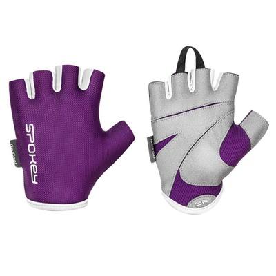 Spokey LADY FIT Dámske fitness rukavice, fialové, vel-L, Spokey