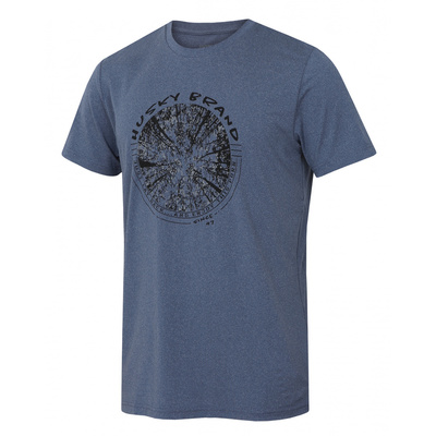 Pánske triko Husky Tash M tm. modrá, Husky