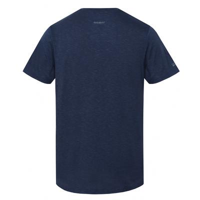 Pánske triko Husky Tingle M tm. modrá, Husky