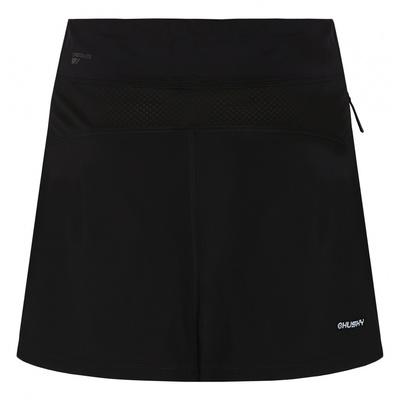 Dámska sukňa sa šortkami Husky flám L čierna, Husky
