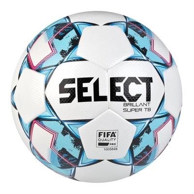 Futbalový lopta Select FB Brillant Super TB bielo modrá, Select