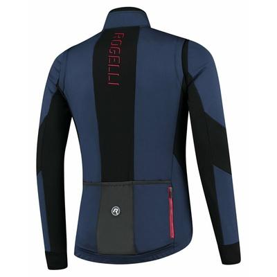 Pánska softshellová cyklobunda Rogelli Brave modro-čierno-červená ROG351025, Rogelli