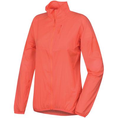 Dámska ultraľahká bunda Husky Loco L neónovo ružová