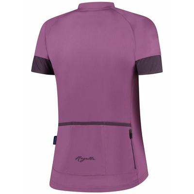 Dámsky cyklistický dres Rogelli Modesta s krátkym rukávom, fialový 010.119, Rogelli