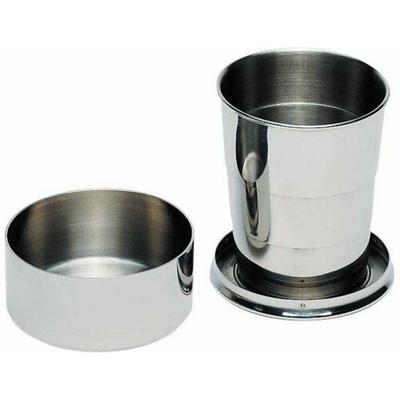 Skladací pohár z nehrdzavejúcej ocele Ferrino BICCHIERE PIEGHEVOLE INOX, Ferrino