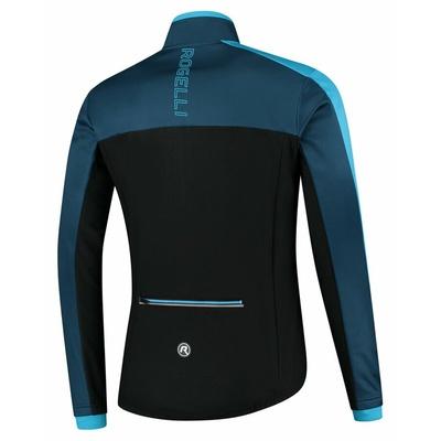 Pánska zimná bunda Rogelli Freeze čierno-modrá ROG351021, Rogelli