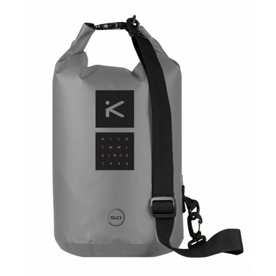 Lodná taška Hiko sport ROVER Cylindric 50L 84010 sivá, Hiko sport