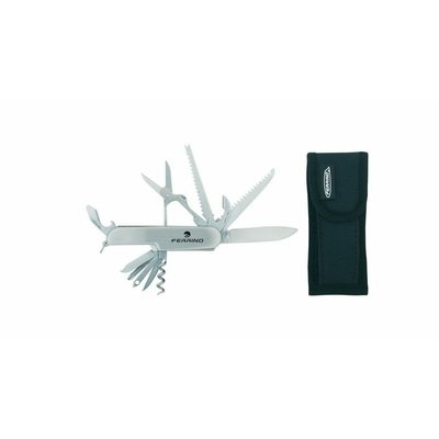 Multifunkčný nôž z nerezovej ocele Ferrino COLTEL LINO 11 FUNZIONI, Ferrino