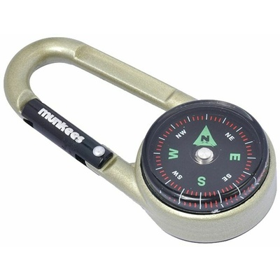 Ferrino karabína s kompasom a teplomerom
