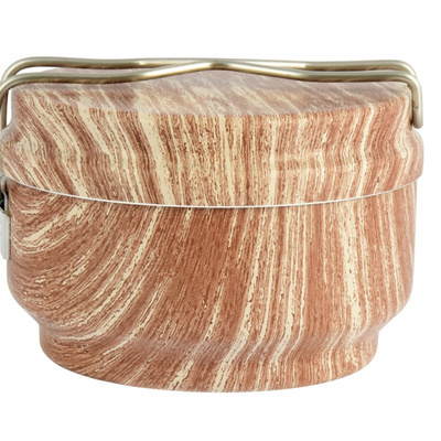 ESUS ALB WOOD 3-dielny, dizajnové drevo 0616, ALB