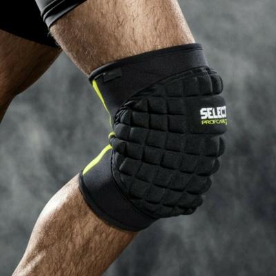 Chrániče na kolenách Select Knee podpora s/veľký podložka 6205 čierna, Select